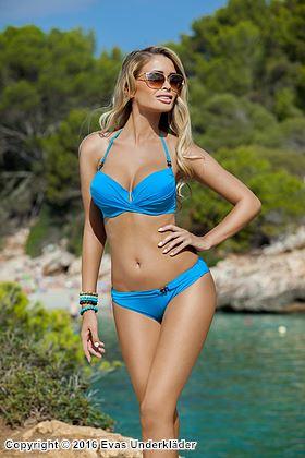 Bikini-set med kedjedetaljer